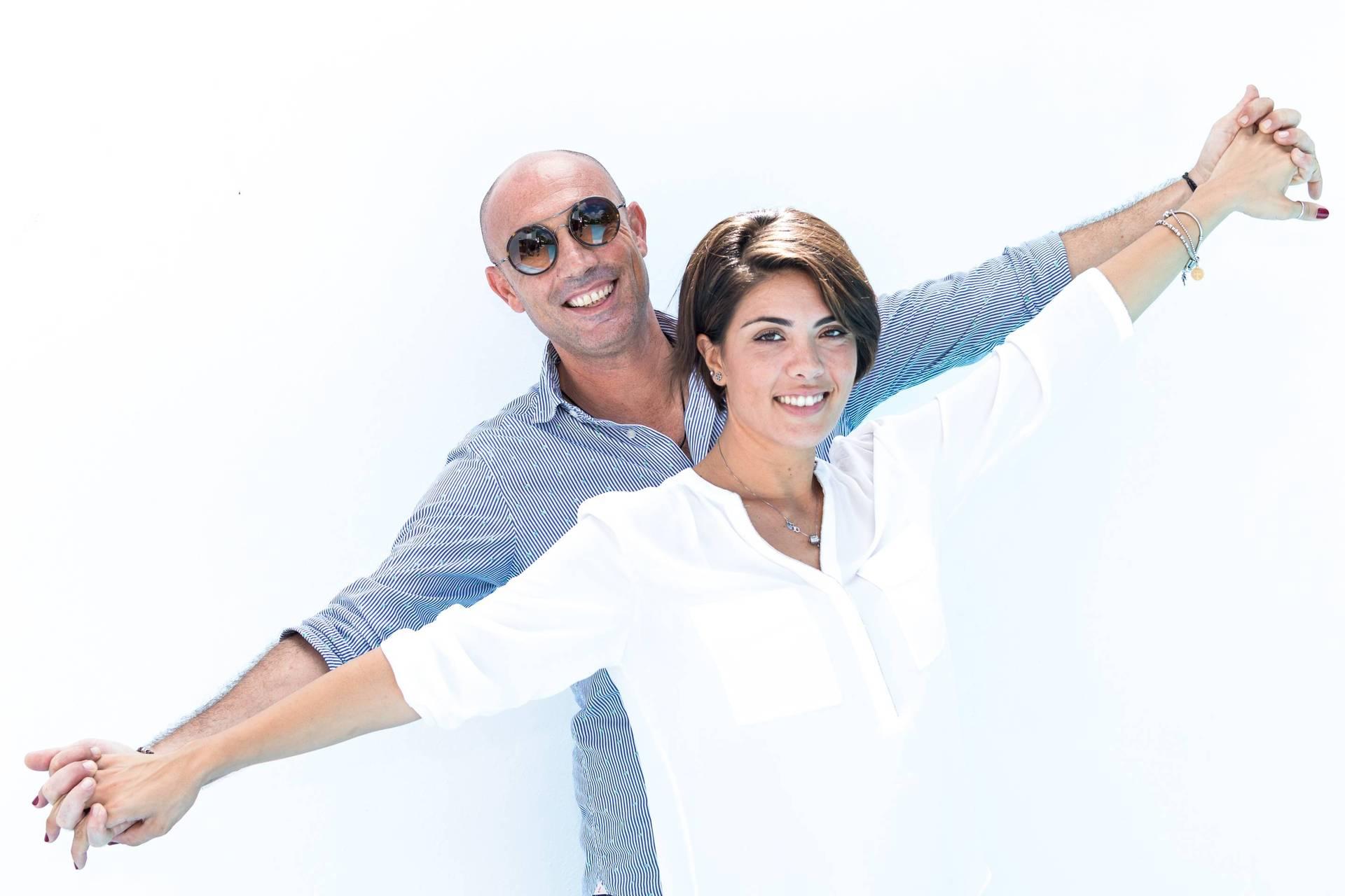 Giuseppe and Lia